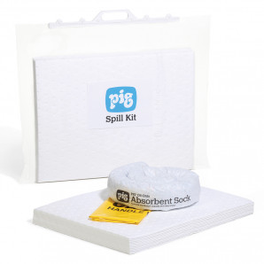 PIG® 15 L Oil-Only Spill Kit in a Clip-Close Bag