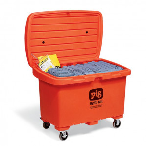 PIG Spill Kits in High-Visibility Storage Chest
