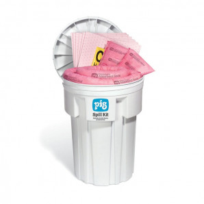 PIG® HAZ-MAT Spill Kits in a 115-litre Overpack Drum