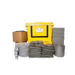 PIG® Essentials Universal Spill Kit - Wheeled Container with Drop Front