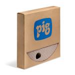 PIG® Brown Oil-Only Barrel Top Mats - Heavy Weight