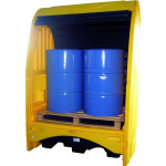 PIG® Essentials Hardtop Drum Containment Pallets
